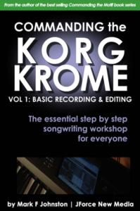 Commanding the korg krome book cover