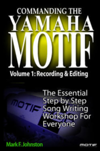 Commanding the Yamaha motif book cover